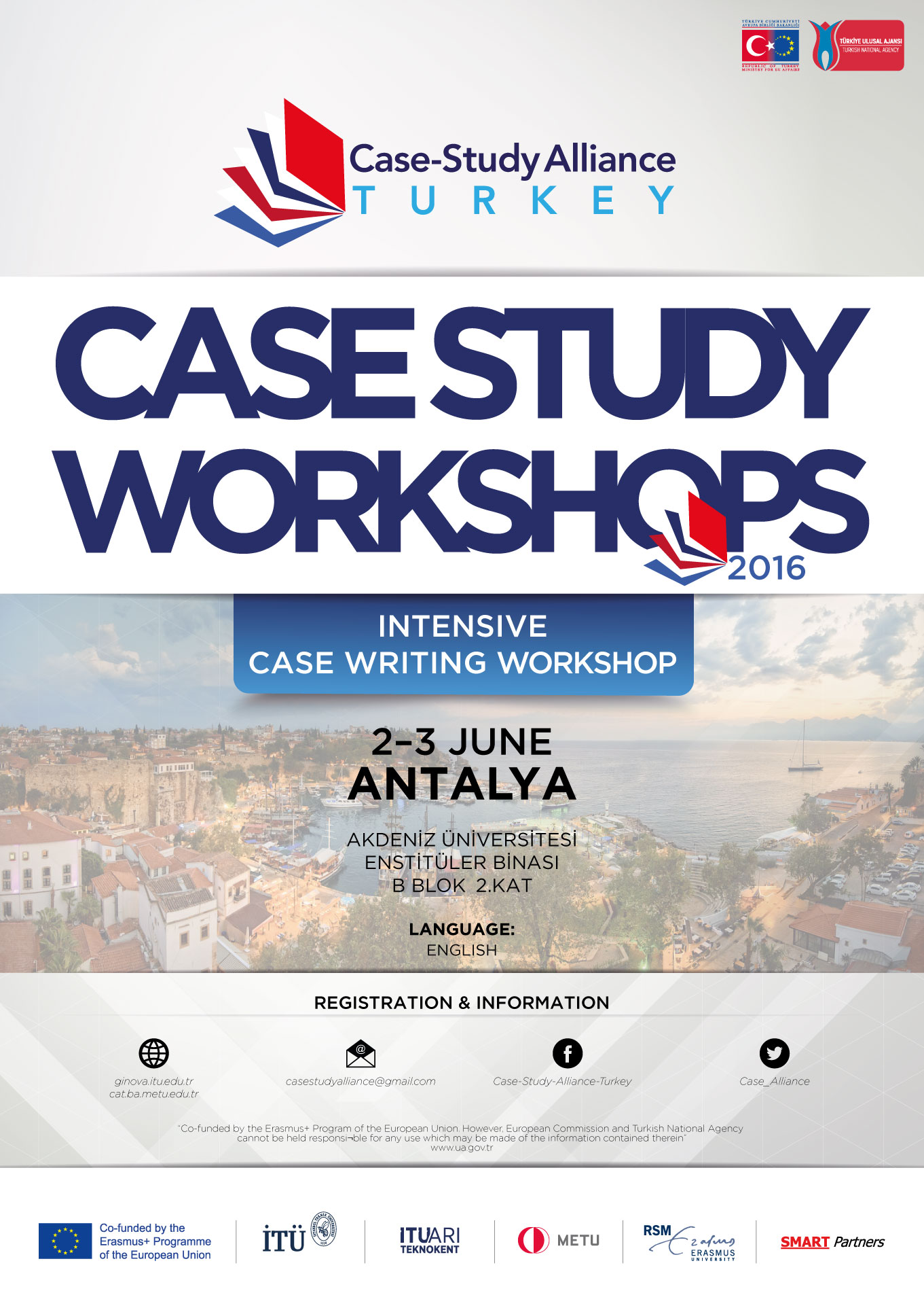 Intensive Case Writing Workshop